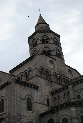 The Basilica of Orcival in Auvergne