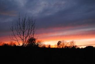 Sunset at Vareilles