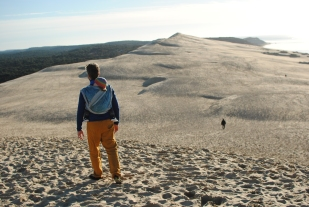 Hiking the dune of Pyla