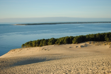 Looking over to La Pointe of Cap Ferret