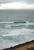 The ocean in front of Biarritz