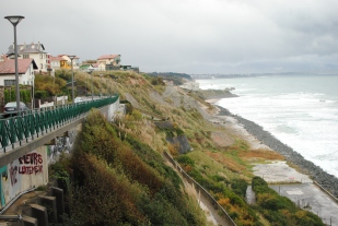 Biarritz, the dodgy end