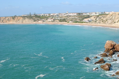 View of Sagres from the crag